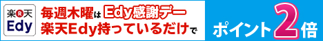 楽天バナー(Edyポイント2倍)